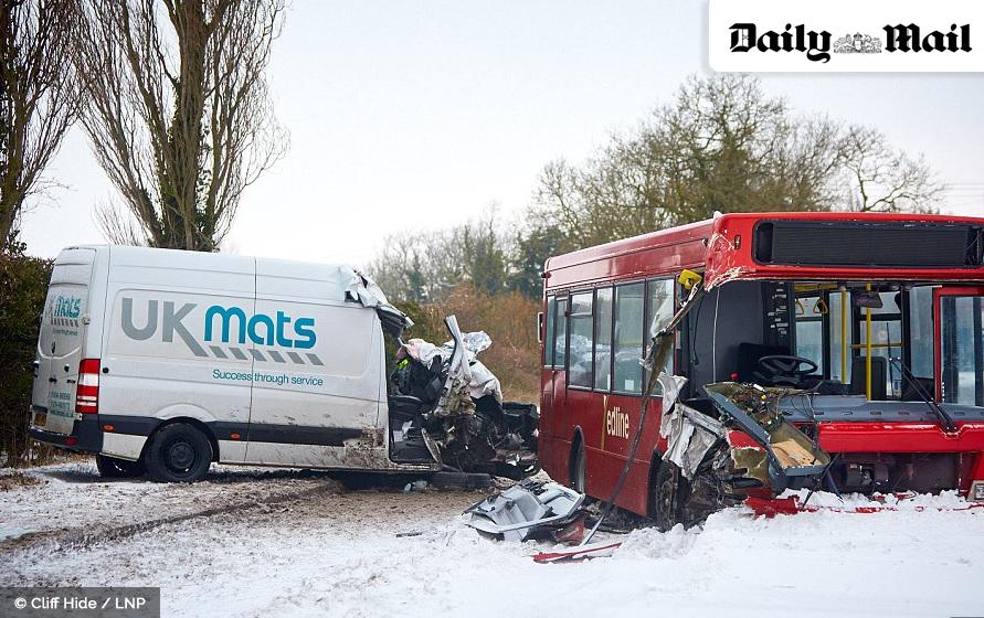 UK Mats van hit by bus in Stoke Mandeville