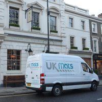 UK Mats Ltd van